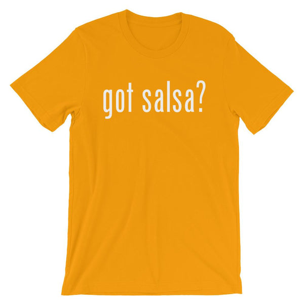 Got Salsa - Men's T-Shirt (Gold)