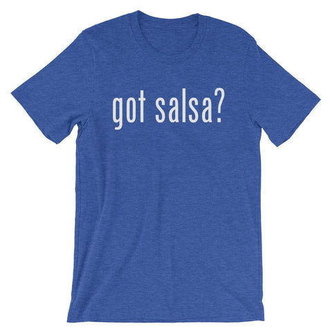 Got Salsa - Women's T-Shirt (Heather True Royal)