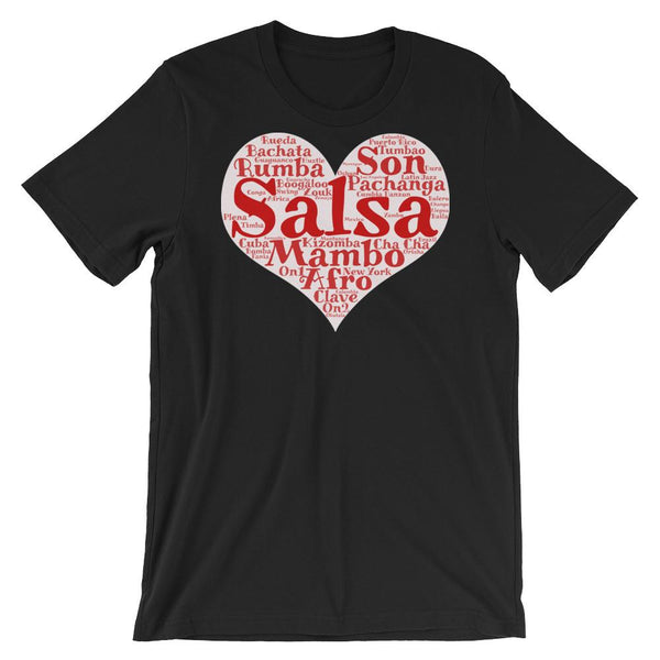Heart of Salsa - Women's T-Shirt (Black)