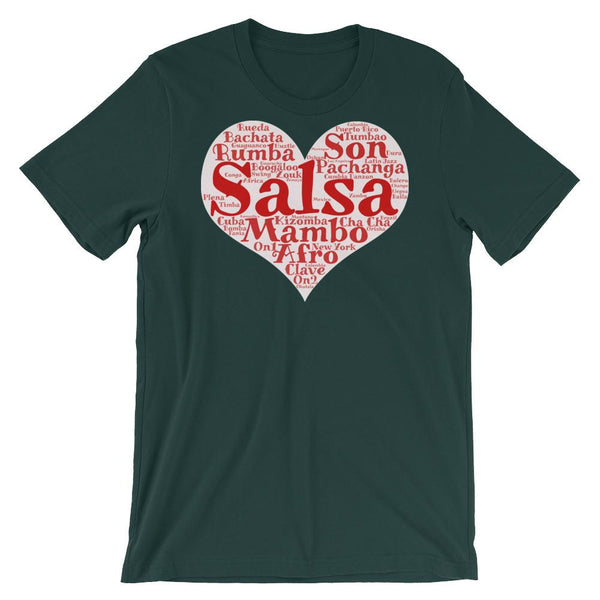 Heart of Salsa - Women's T-Shirt (Forest)