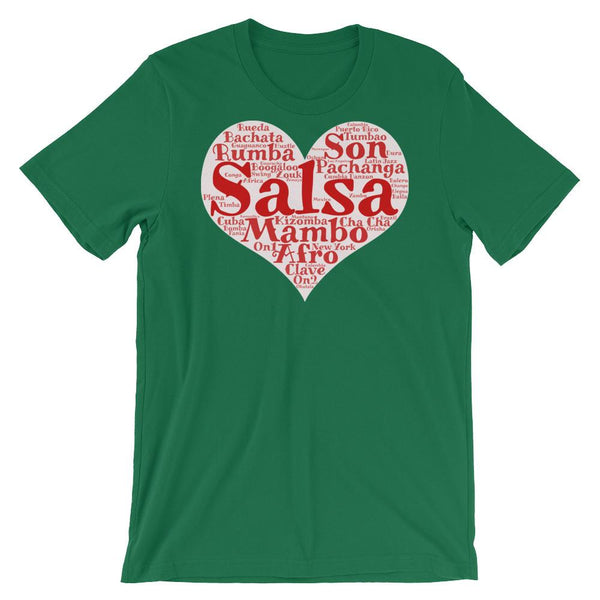 Heart of Salsa - Women's T-Shirt (Kelly)