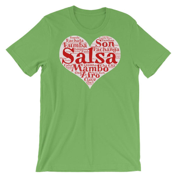 Heart of Salsa - Women's T-Shirt (Leaf)