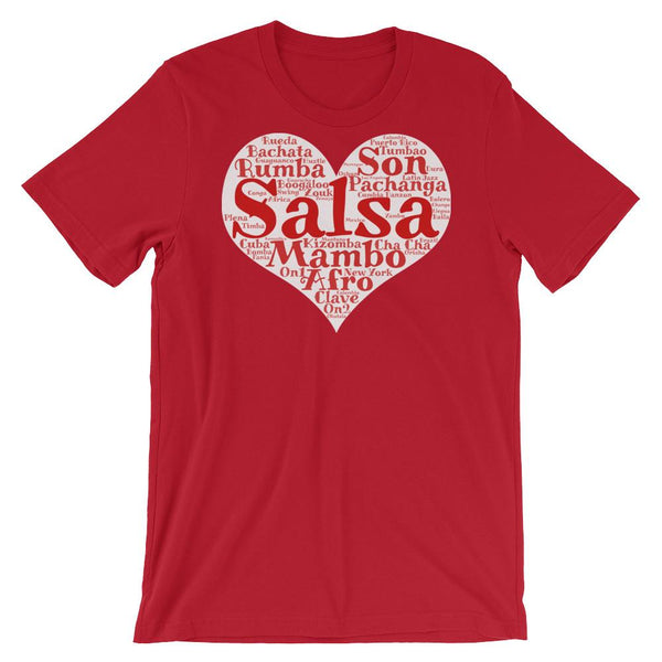 Heart of Salsa - Women's T-Shirt (Red)
