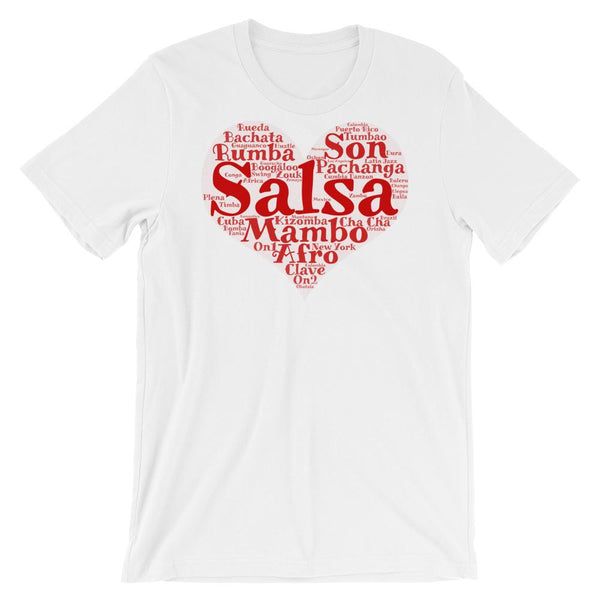 Heart of Salsa - Women's T-Shirt (White)