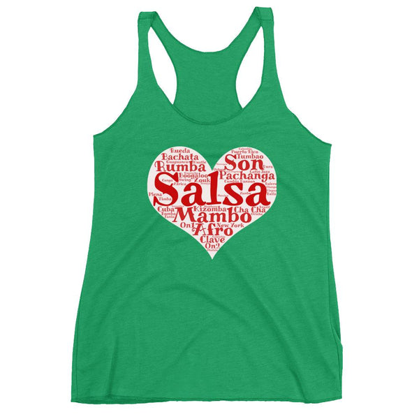 Heart of Salsa - Women's Tank Top (Envy)