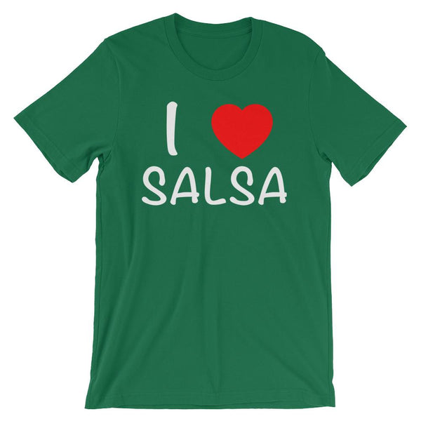 I Heart Salsa - Men's T-Shirt (Kelly)