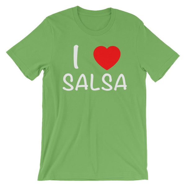 I Heart Salsa - Men's T-Shirt (Leaf)