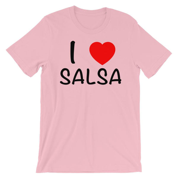 I Heart Salsa - Men's T-Shirt (Pink)