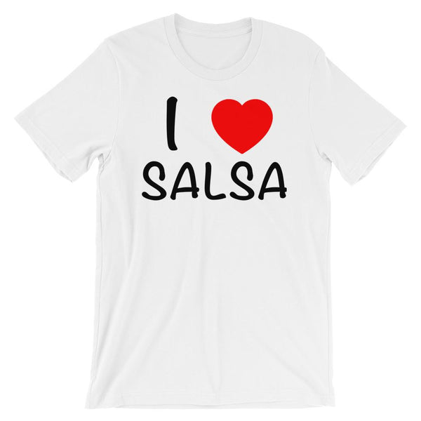 I Heart Salsa - Men's T-Shirt (White)
