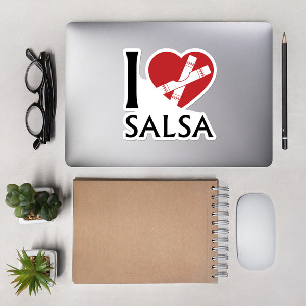 I Heart Salsa - Sticker