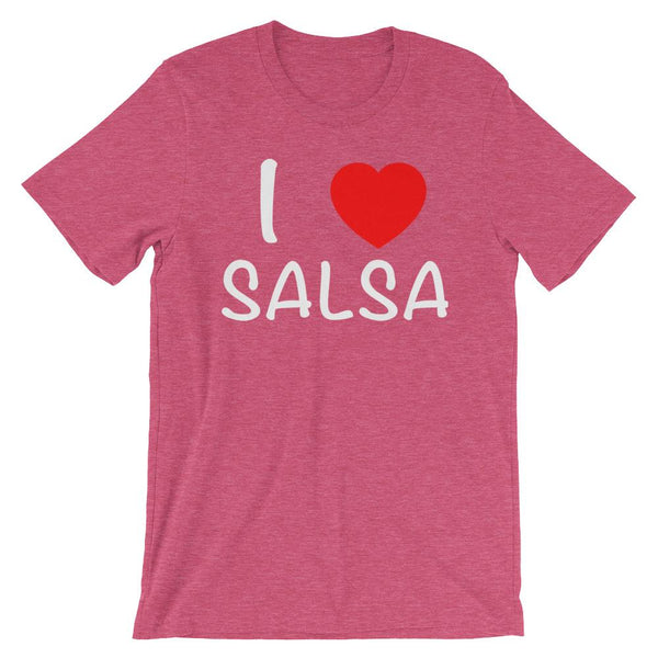 I Heart Salsa - Women's T-Shirt (Heather Raspberry)