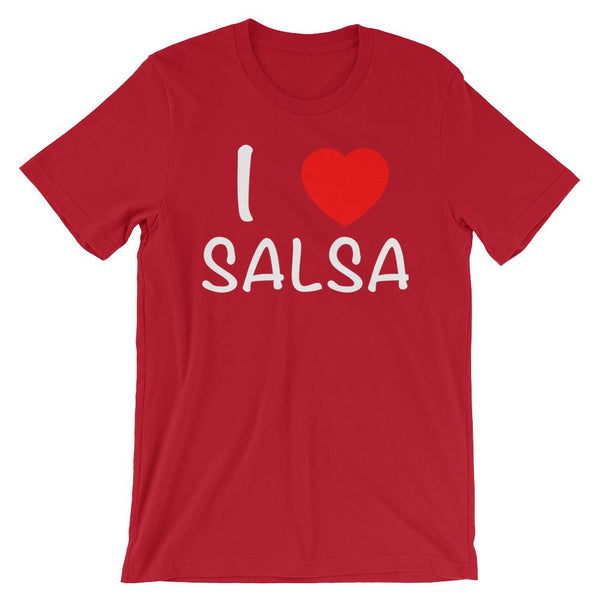 I Heart Salsa - Women's T-Shirt (Red)