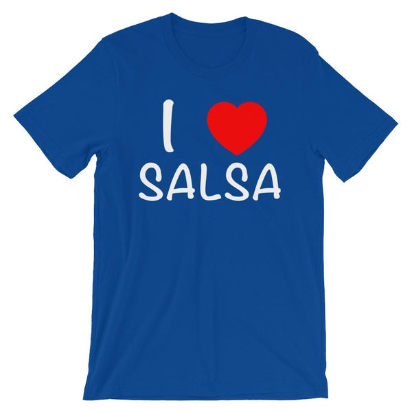I Heart Salsa - Women's T-Shirt (True Royal)