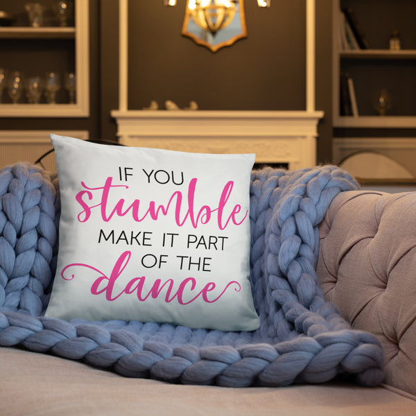 If You Stumble Pillow