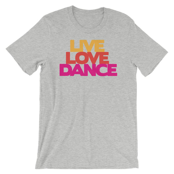 Live Love Dance - Women's T-Shirt (Athletic Heather)