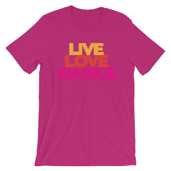 Live Love Dance - Women's T-Shirt (Berry)