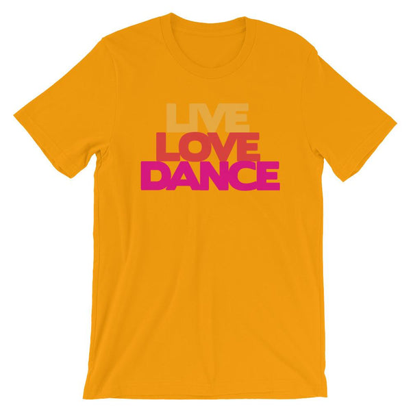 Live Love Dance - Women's T-Shirt (Gold)
