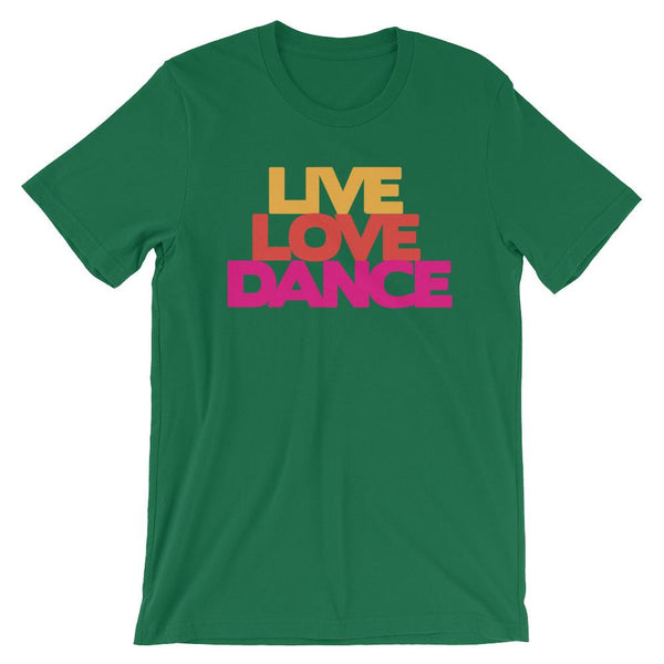 Live Love Dance - Women's T-Shirt (Kelly)
