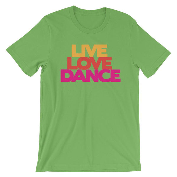Live Love Dance - Women's T-Shirt (Leaf)