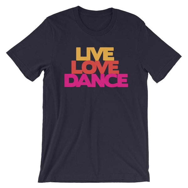 Live Love Dance - Women's T-Shirt (Navy)