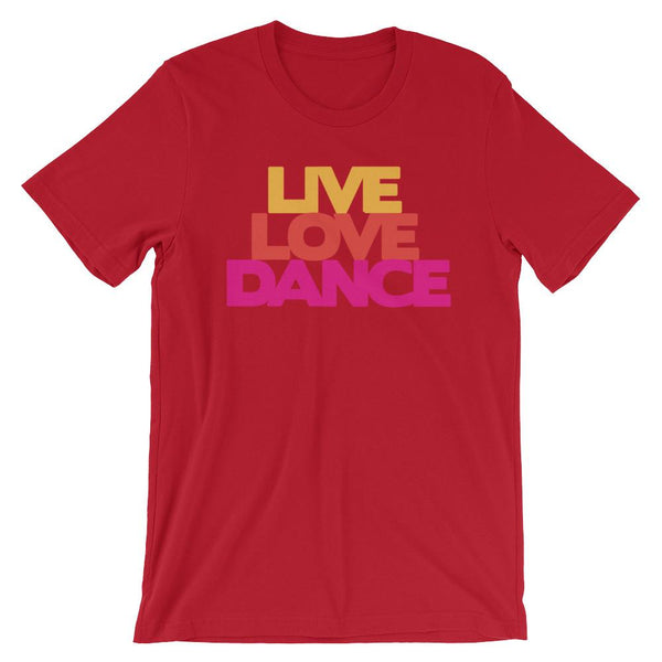 Live Love Dance - Women's T-Shirt (Red)