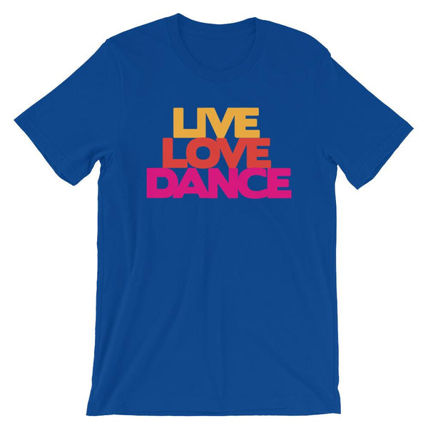 Live Love Dance - Women's T-Shirt (True Royal)