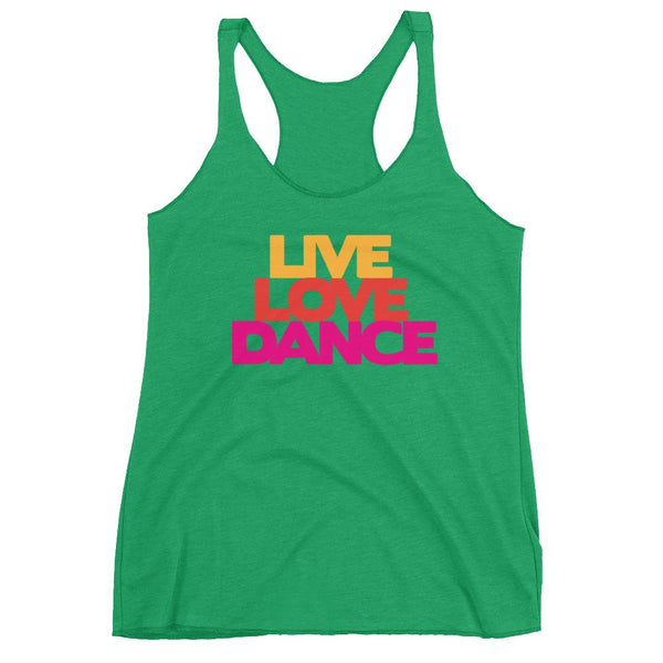 Live Love Dance - Women's Tank Top (Envy)