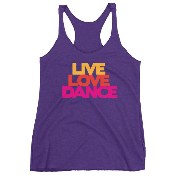 Live Love Dance - Women's Tank Top (Purple Rush)