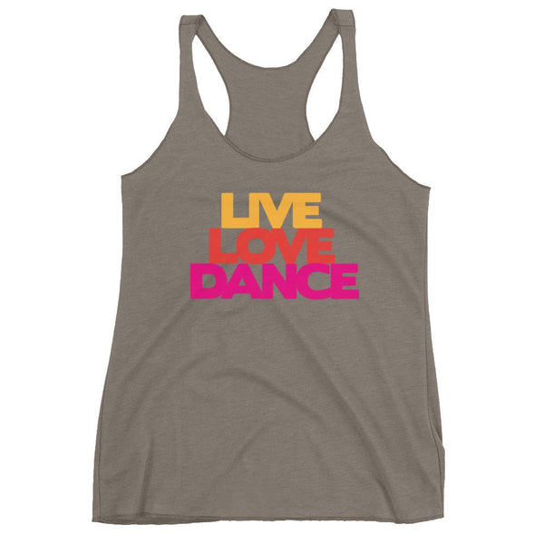 Live Love Dance - Women's Tank Top (Venetian Grey)
