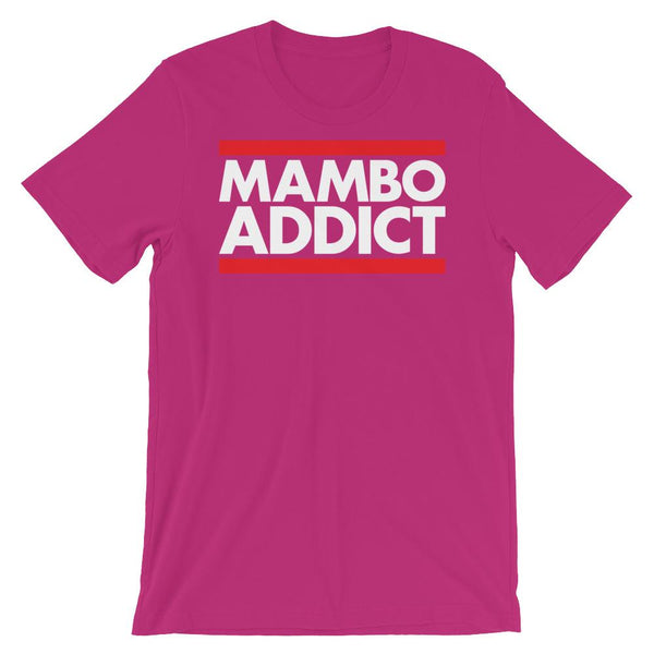 Mambo Addict - Men's T-Shirt (Berry)