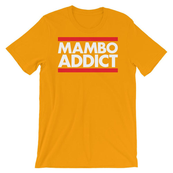 Mambo Addict - Men's T-Shirt (Gold)