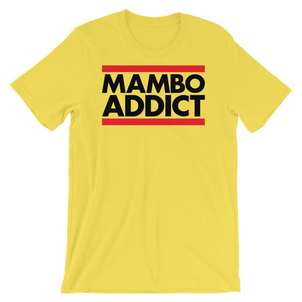 Mambo Addict - Men's T-Shirt (Yellow)
