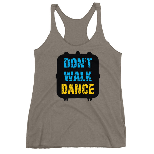 Don't Walk, Dance - Women's Salsa Dancing Tank Top