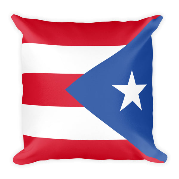 Puerto Rican Flag Pillow