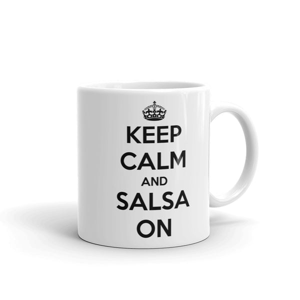Keep Calm And Salsa On Mug