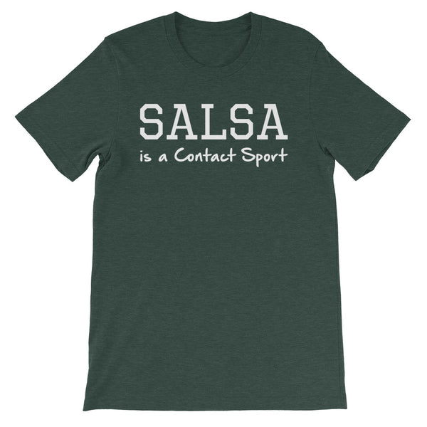 Salsa Is A Contact Sport - Men's Salsa Dancing T-Shirt