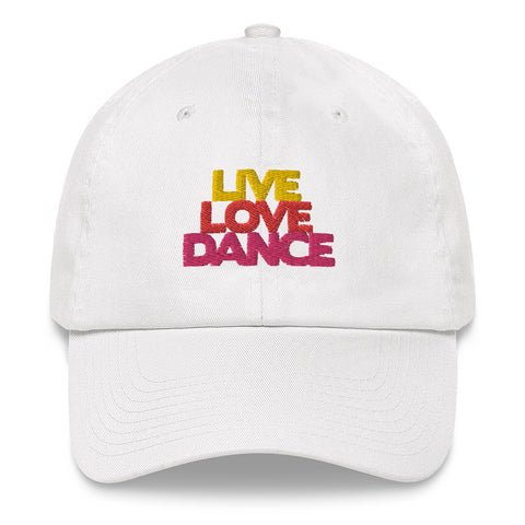 Live Love Dance - Baseball Cap