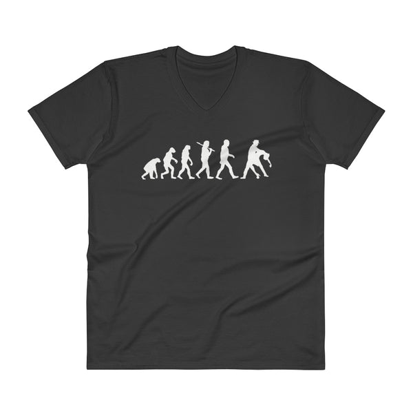 Evolution of Salsa - Men's V-Neck T-Shirt