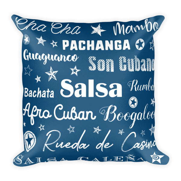 Latin Dances Pillow