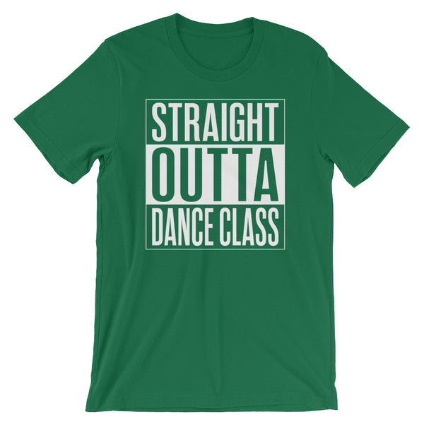 Straight Outta Dance Class - Men's Salsa Dancing T-Shirt