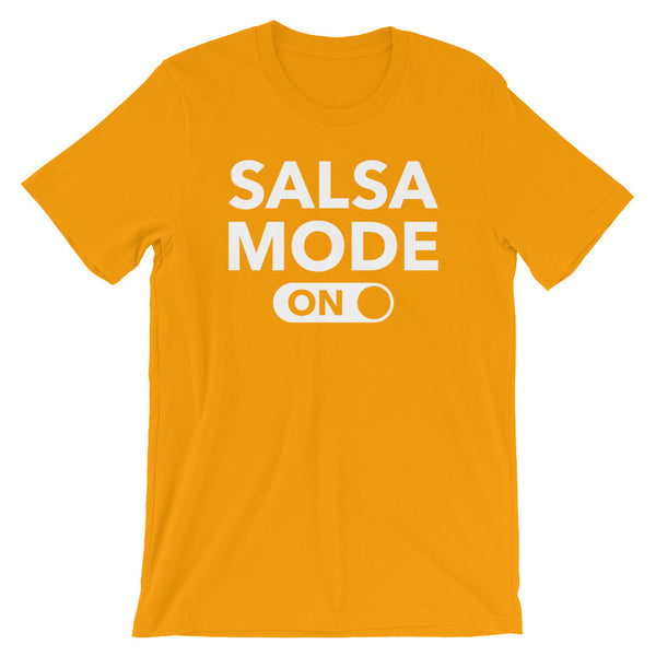 Salsa Mode On - Men's Salsa Dancing T-Shirt