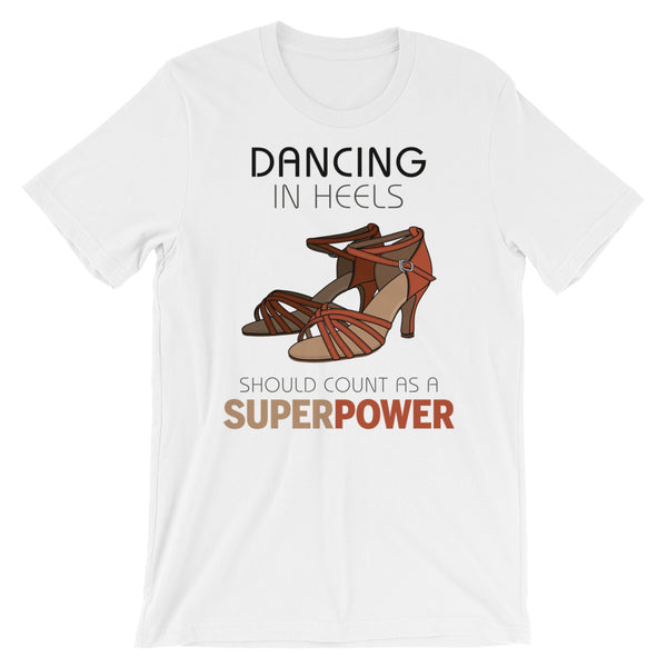 Dancing In Heels - Women's Salsa Dancing T-Shirt