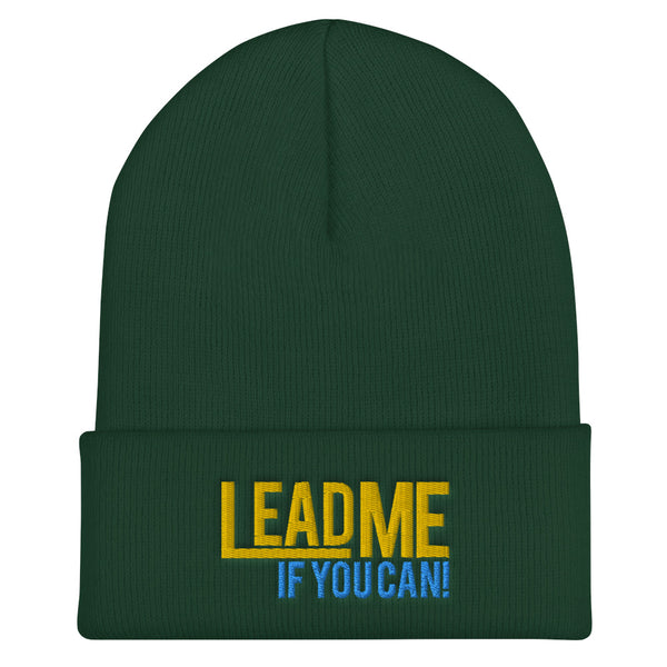 Lead Me If You Can - Cuffed Beanie