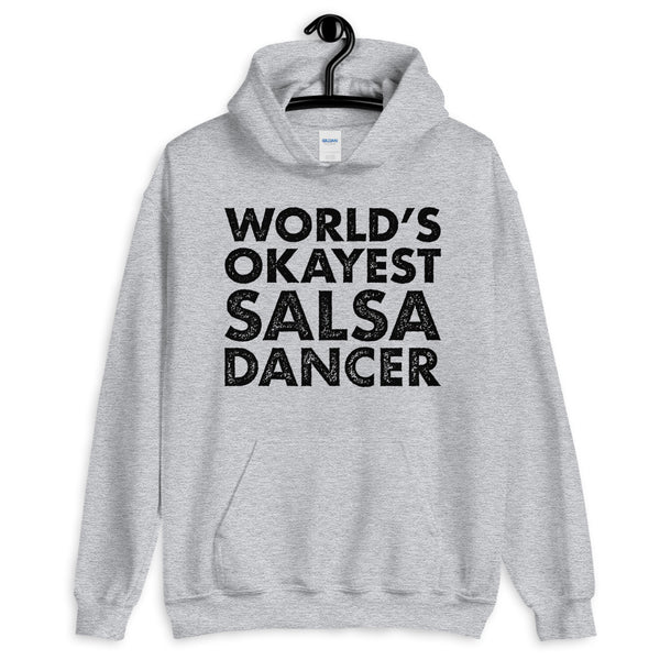 World's Okayest Salsa Dancer - Men's Hoodie