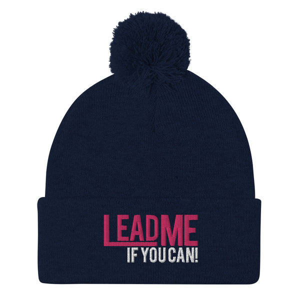 Lead Me If You Can - Pom-Pom Beanie
