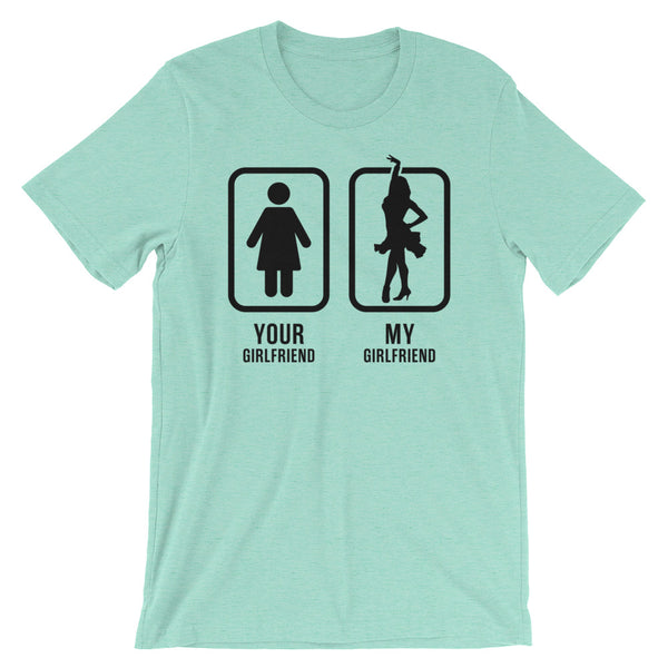 Your Girlfriend, My Girlfriend - Men's Salsa Dancing T-Shirt