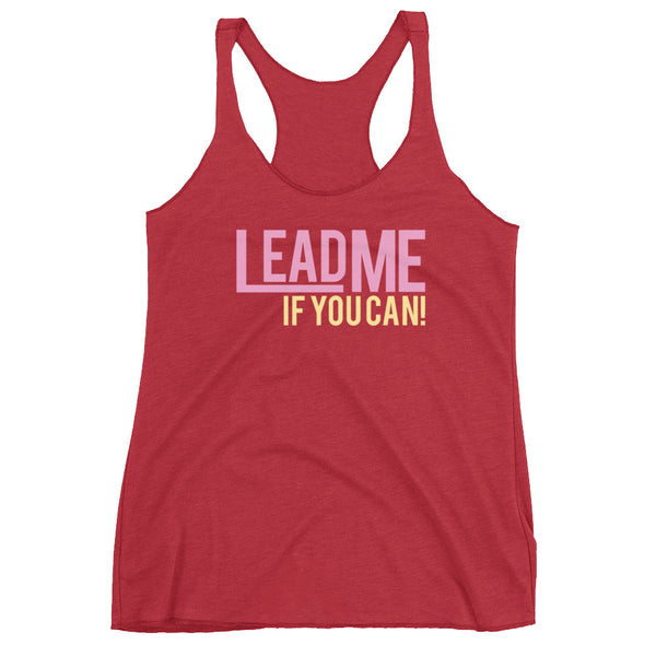 Lead Me If You Can - Women's Salsa Dancing Tank Top