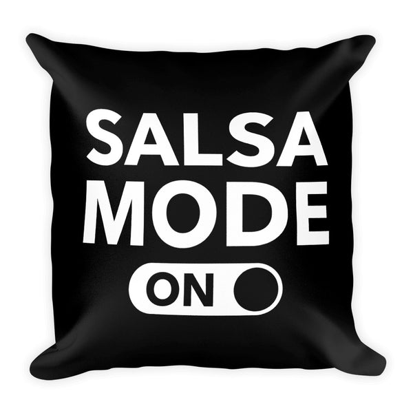 Salsa Mode On Pillow