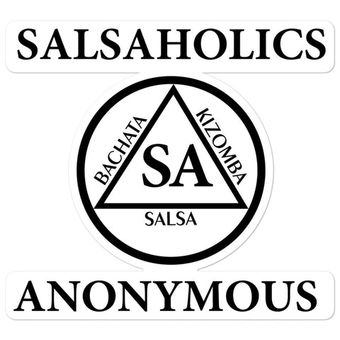 Salsaholics Anonymous - Sticker