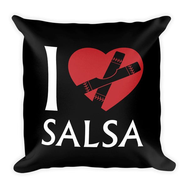 I Heart Salsa Pillow